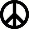 Peace Die-Cut Sticker