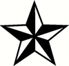 Nautical Star Sticker