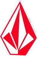 """Volcom 10"""" Logo Sticker"""
