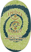 Indo Board - Indo Deck Green - Deck Only