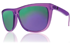 Electric Sunglasses - Tonette - Purps/Grey Violet Chrome Lens