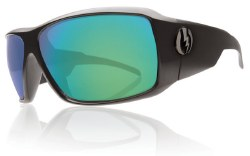 Electric Sunglasses - KB1 Matte Black/Grey Green Chrome