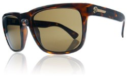 Electric Sunglasses - Knoxville Tortoise Shell / Bronze Polycarbonate Polarized Lens