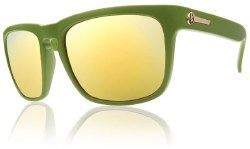 Electric Sunglasses - Knoxville Army Green / Bronze Gold Chrome Lens
