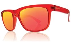 Electric Sunglasses - Knoxville Fire Brick/Grey Fire Chrome Lens