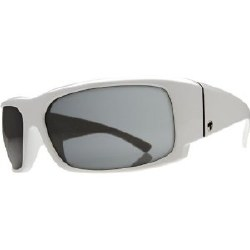 Electric Sunglasses - Hoy - Gloss White/Grey Chrome