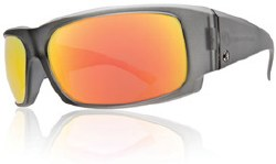 Electric Sunglasses - Hoy - Matte Smoke/Grey Fire Chrome