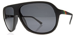 Electric Sunglasses - Hoodlum - Matte Black Tweed/Grey