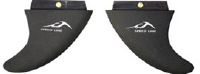 Inland Surfer - Big Boy Carbon Speed Line Fins