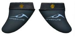 Inland Surfer - Little Buddy Carbon Speed Line Fins