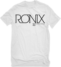 Ronix - Megacorp White/Black T-shirt