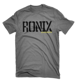 Ronix - Megacorp Heather/Black/Yellow T-shirt