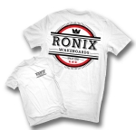 Ronix - Steak Dinner T-Shirt White/Black/Red
