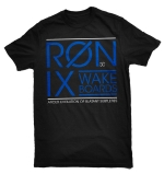 Ronix - The Big Squire T-Shirt - Black/Royal Blue