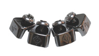 CWB - 8 Plate Chrome Binding Clamp Set