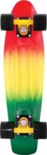 "Penny 22"" Fade Complete Rasta Grn/yel/red"