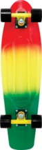 "Penny 27"" Nickel Fade Comp Rasta Grn/yel/red"