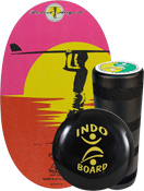 Indo Training Package - Endless Summer (deck,roller,cushion)
