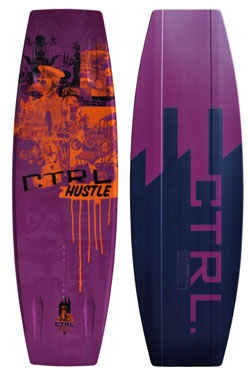CTRL - 2013 The Hustle 136 Finless Wakeboard
