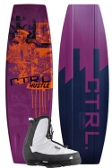 CTRL - 2013 The Hustle 136 Finless w/White Hustle Wakeboard Package