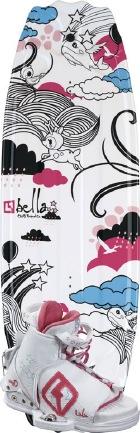 CWB - 2012 Bella 124 w/LuLu Wakeboard Package