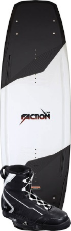 CWB - 2012 Faction 144 w/G6 Wakeboard Package