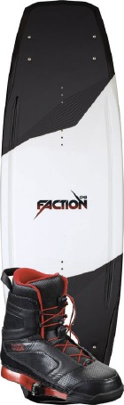 CWB - 2012 Faction 144 w/Faction Wakeboard Package