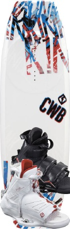 CWB - 2012 Kink 134 w/Vapor Wakeboard Package