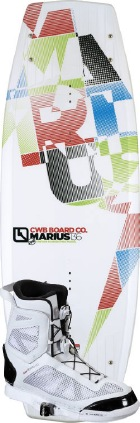 CWB - 2012 Marius 136 w/Answer Wakeboard