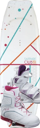 CWB - 2012 Sapphire 134 w/Sage Wakeboard Package