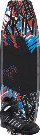CWB - 2012 xKink 134 w/Prizm Wakeboard Package