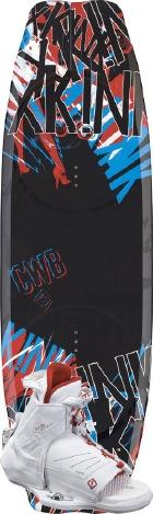 CWB - 2012 xKink 134 w/Torq Wakeboard Package