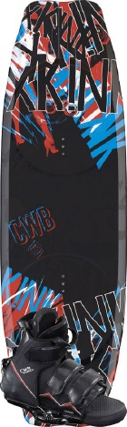 CWB - 2012 xKink 134 w/Vapor Wakeboard Package