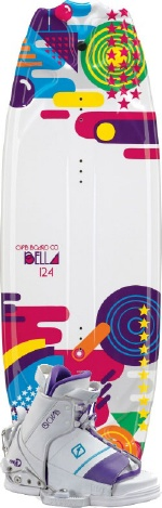 CWB - 2013 Bella 124 w/LuLu Wakeboard Package