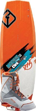 CWB - 2013 Marius 136 w/Marius Wakeboard Package