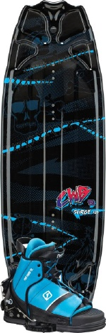 CWB - 2013 Surge 125 w/Tyke Wakeboard Package
