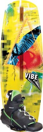 CWB - 2013 Vibe 136 w/Vapor Wakeboard Package