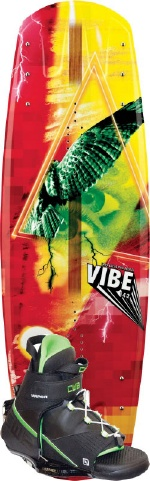 CWB - 2013 Vibe 142 w/Vapor Wakeboard Package