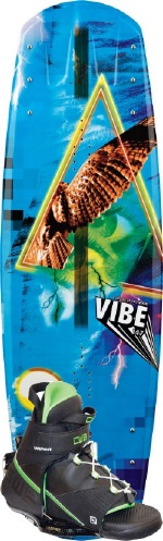 CWB - 2013 Vibe 147 w/Vapor Wakeboard Package