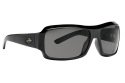 Dominate - Shiny Black/Smoke Polarized