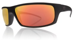 Electric Sunglasses - Technician - Matte Black / Grey Fire Chrome Lens