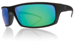 Electric Sunglasses - Technician - Matte Black / Grey Green Chrome Lens