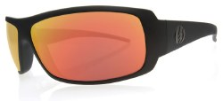 Electric Sunglasses - Charge - Matte Black / Grey Fire Chrome Lens