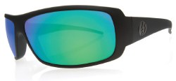 Electric Sunglasses - Charge - Matte Black / Grey Green Chrome Lens