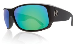 Electric Sunglasses - Module Matte Black / Grey Green Chrome Lens