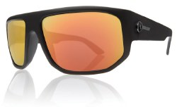 Electric Sunglasses - BPM Matte Black / Grey Fire Chrome Lens