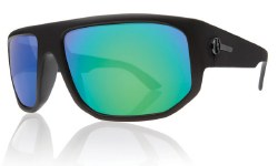 Electric Sunglasses - BPM Matte Black / Grey Green Chrome Lens