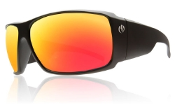 Electric Sunglasses - D Payne Matte Black/Grey Fire Chrome
