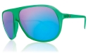 Electric Sunglasses - Hoodlum - Dollar Bill/Grey Blue Chrome