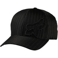 Fox - Flex 45 Flexfit Hat - Black Pinstripe